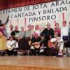 Finalistas concurso de jota Pinsoro 2016