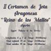 "II Certamen de Jota Aragonesa ""Reino de los Mallos"""