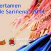 Finalistas del Certamen de jota de Sariñena 2014