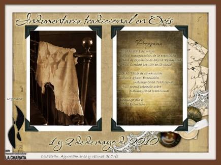 Jornadas de Indumentaria Tradicional en Orés