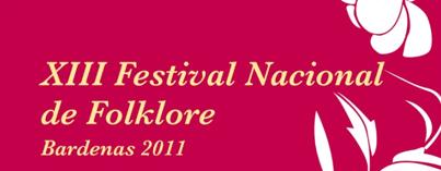 XIII Festival nacional de Folklore en Bardenas con jotas murcianas y dulzainas