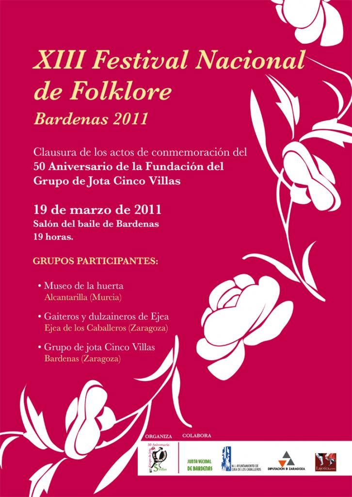 XIII Festival Nacional de Folklore en Bardenas