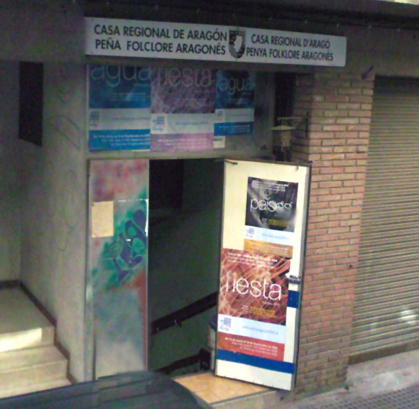 Casa regional de arag n en berga barcelona la jotica - Apartamentos en berga ...