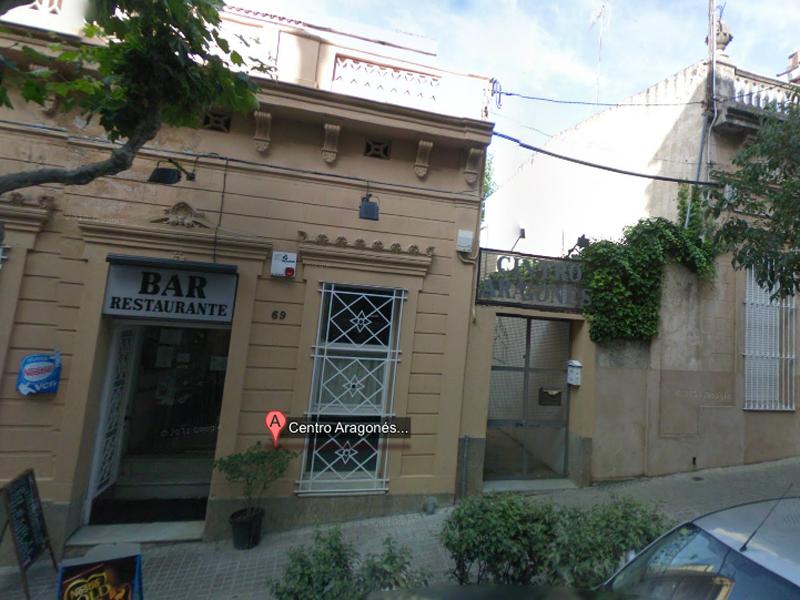 Casa de Aragón en Badalona (Barcelona)
