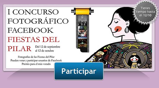 I concurso fotográfico facebook Fiestas del Pilar 2012
