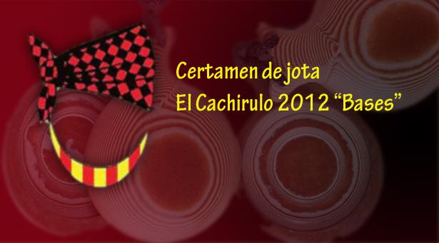 Finalistas del certamen de jota del Cachirulo 2012