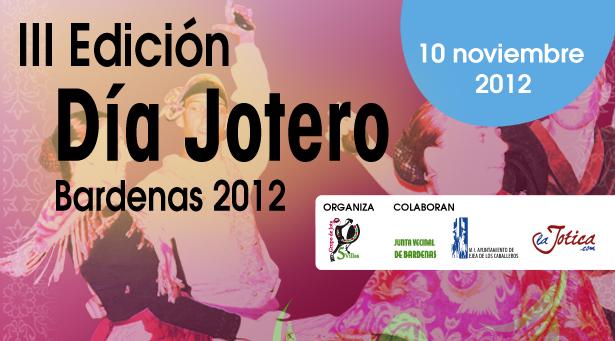 III Edición del Día Jotero Bardenas, 2012