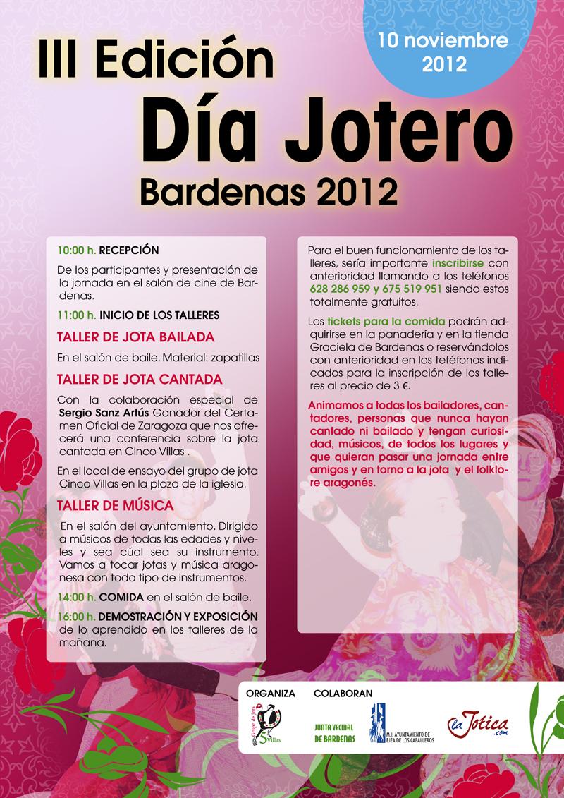 III Día jotero Bardenas 2012