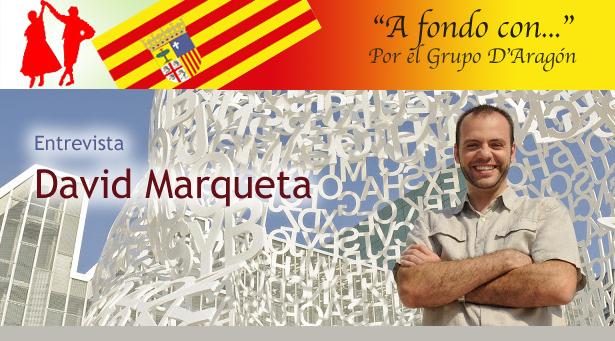A fondo con... David Marqueta, en el blog del Grupo D'Aragón