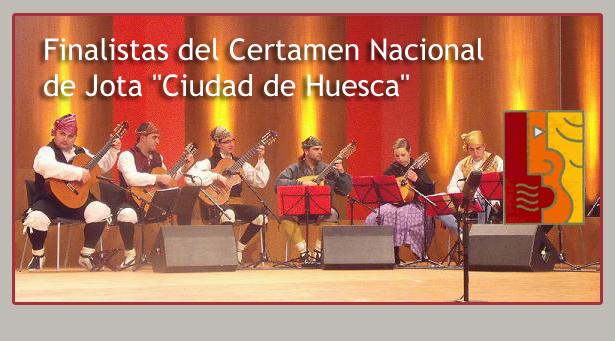 Finalistas certamen de jota de Huesca 2013