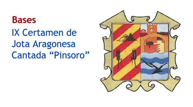 Bases del Certamen de jota de Pinsoro 2013