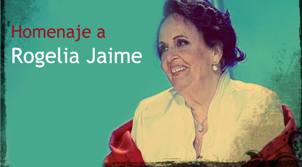 Homenaje Rogelia Jaime