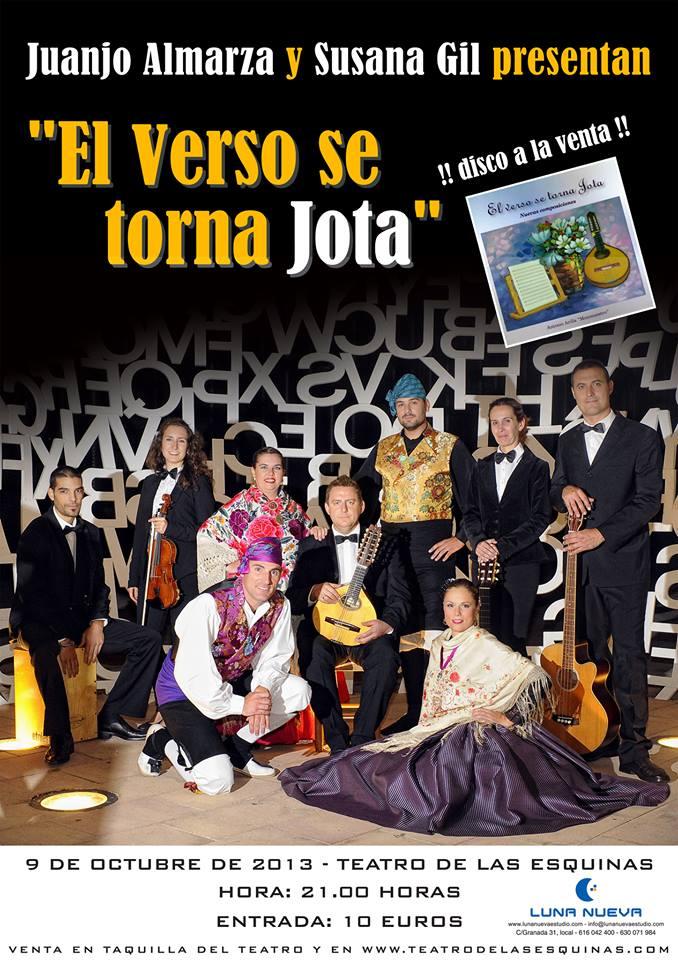Juanjo Almarza y Susana Gil presentan en Zaragoza su espectáculo