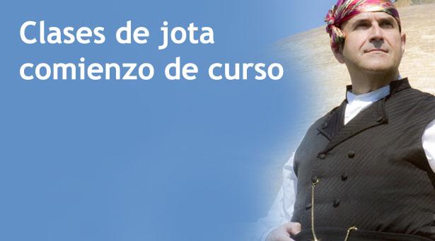 Comienzan las clases de jota cantada con José Luis Urbén