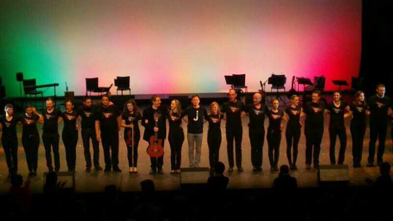 Mediterráneo, el nuevo espectáculo de M. A. Berna se estrena en el Auditorio de Zaragoza