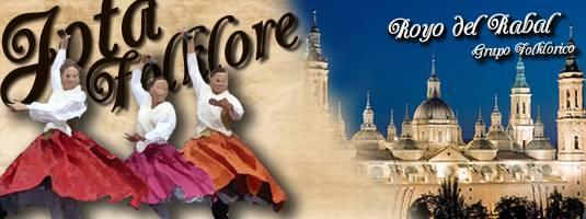 El Grupo Folklórico Royo del Rabal actuará en la plaza del Pilar el próximo domingo