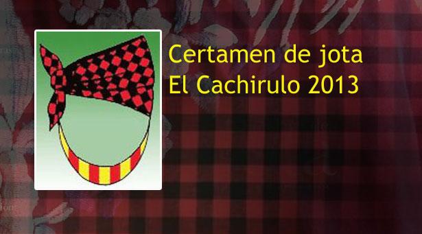Listado de premios Certamen del cachirulo 2013