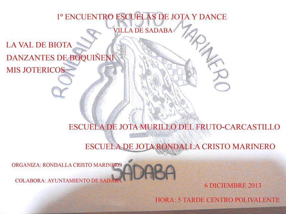 Primer Encuentro de escuelas de jota en Sádaba