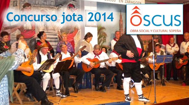 XIX Concurso de jota aragonesa cantada