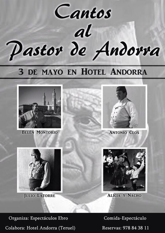 Homenaje al pastor de Andorra