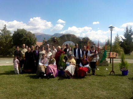 Grupo folclórico Santiago Sabiñánigo