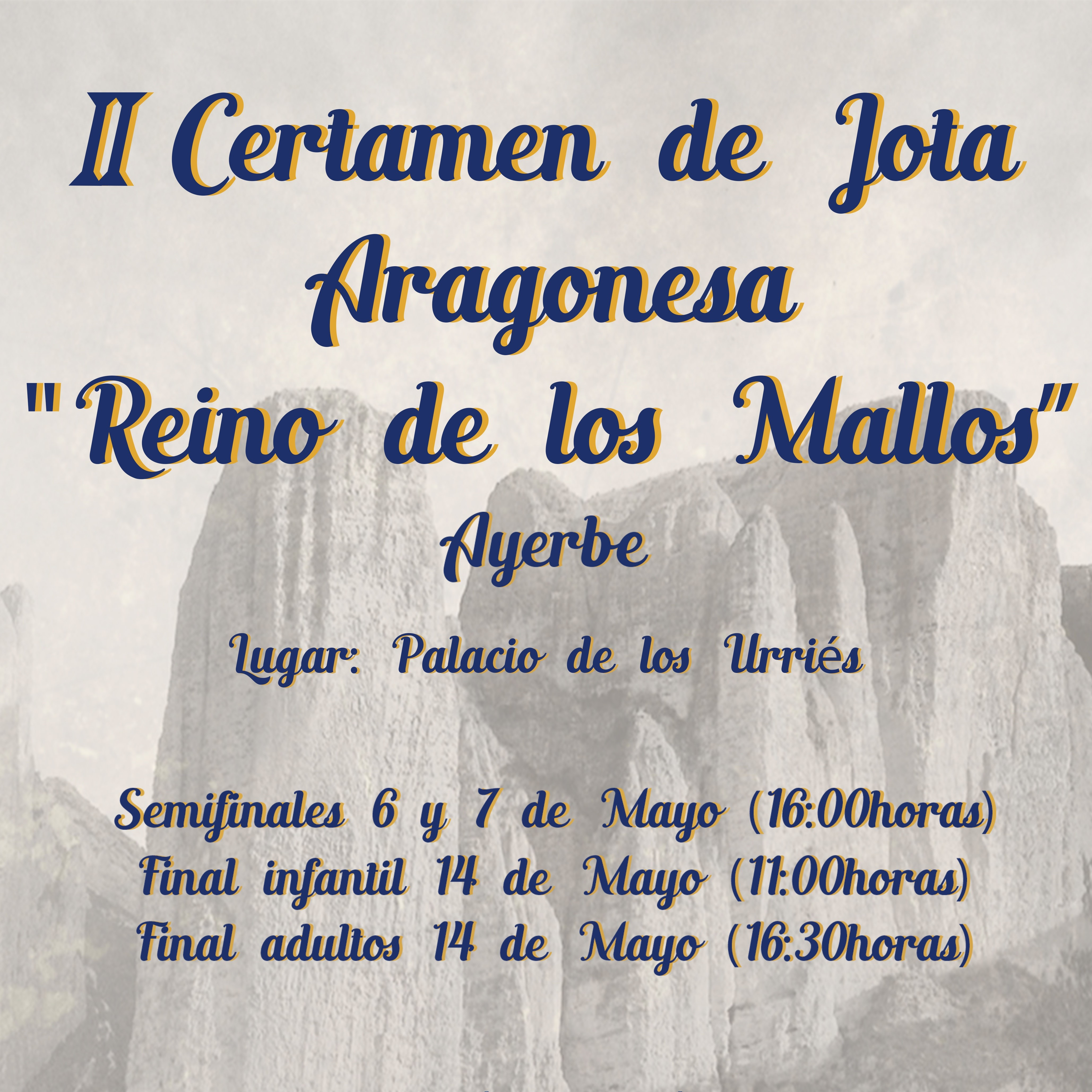 II Certamen de Jota Aragonesa