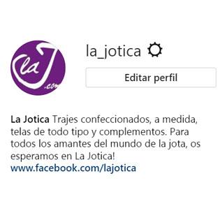 La Jotica ya está en Instagram