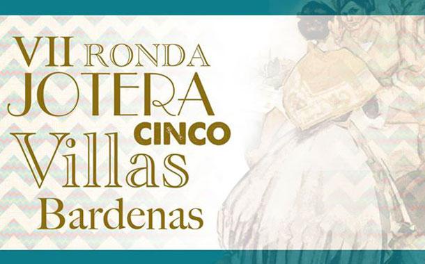 VII Ronda Jotera Cinco Villas en Bardenas