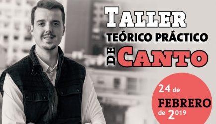 Taller de canto teórico práctico, con Sergio San Artús