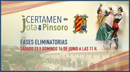 Las fases clasificatorias del XVI Certamen de jota de Pinsoro se emitirán on line este sábado y domingo